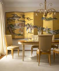 Asian Dining Room by Wall Art Asian Panels Living Room Modern With Leather Bench Wool