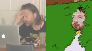 Thom Yorke Meme - the internet is having loads of fun at radiohead s expense music feeds