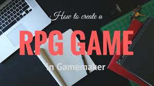 how to create an rpg game in game maker in 10 minutes youtube