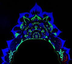Black Light Bedrooms Eye Pop Black Light Groove Part Three Muralicious