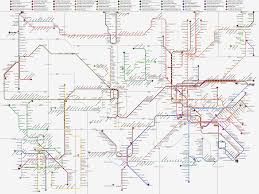 Marta Subway Map by 1196