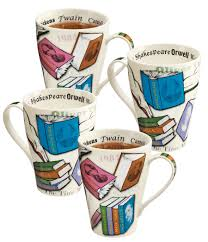 book lover u0027s mugs tall flared generously sized to last for