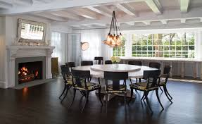 lazy susan dining table custom headl chandelier custom whitewashed round dining table