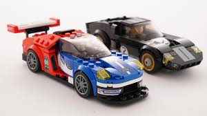 Lego Speed Champions Ford Gt40 And Ford Gt Motor1 Com Photos