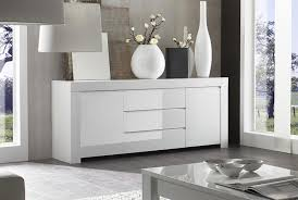White Gloss Sideboards Modern High Gloss White 2 Door Sideboard Contemporary Italian