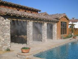patio misting systems keep cool and bug free in the sacramento