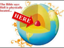 hell is in the of the earth according to the bible earth is a
