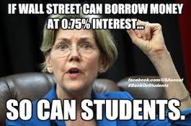 Elizabeth Warren Memes - elizabeth warren student interest rates meme 1 prune juice media