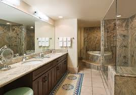 resort suites in tucson az el conquistador golf resort bathroom with double sink large glass shower and a tub next presidential suite