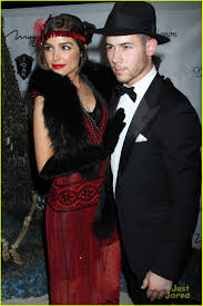 Halloween 1920s Costumes Nick Jonas U0026 Olivia Culpo Couple Halloween Vegas