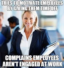Engagement Meme - difference between workhappiness employee engagement