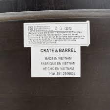 bed frames cb2 headboard crate and barrel bathroom mirrors