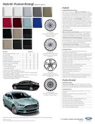 2013 ford fusion specs augusta ga