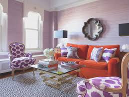 living room view purple accents in living room home design great