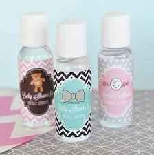 personalized favors personalized baby shower sanitizer favors