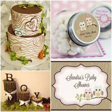 owl baby shower theme woodland owl baby shower ideas hotref party gifts