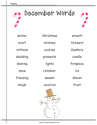 free christmas winter graphing worksheet kindergarten first best
