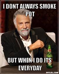Smoke Weed Meme - i don t always smoke pot weed memes