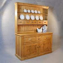 Antique Victorian Pine Dresser Welsh Country Kitchen Display - Kitchen display cabinet