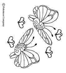 butterfree coloring pages hellokids com