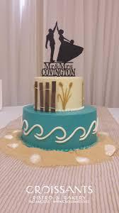 beach wedding cakes croissants myrtle beach bistro u0026 bakery