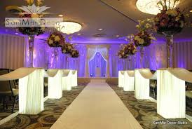 amazing wedding room decorations with modern bridal wedding