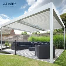 Retractable Roof For Pergola by China Motorized Retractable Roof Canopy System China Aluminum