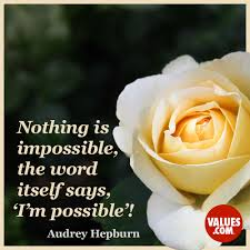 quote garden family nothing is impossible the word itself says u0027i u0027m possible