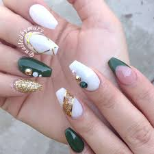 best 25 emerald nails ideas on pinterest metallic nail polish