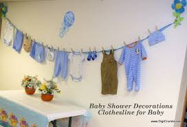 baby shower wall decorations digicrumbs baby shower ideas hang a clothesline for baby