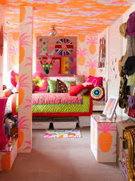 Rooms Bedroom Furniture Kids Room Cool Tropical Bedroom In A Mix Of Colors With