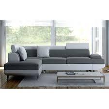 canapé gris et blanc pas cher canape d angle gris et blanc pas cher canape angle gris pas cher