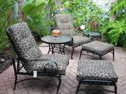 Patio Chairs With Ottoman Martha Stewart Everyday Victoria And Amelia Island Replacement