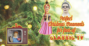awesome new ornaments for fans of classic tv