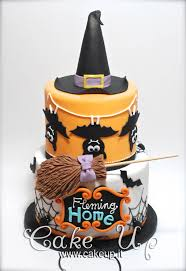 Halloween Decorations For Cakes by Halloween Witch Hat Cake Halloween Fall Cakes Pinterest Hat