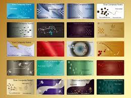 business card design vector file free download card design ideas