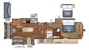 Jayco Caravan Floor Plans Astonishing 5th Wheel Floor Plans Crtable