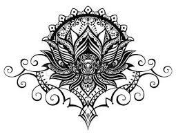 89 best lotus flower mendhi images on flower