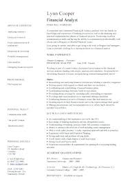 sample resume of financial analyst u2013 topshoppingnetwork com