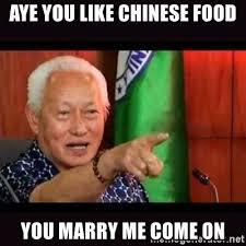 Chinese Meme Generator - chinese food meme generator food