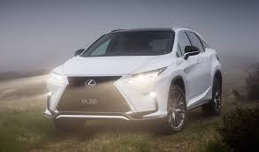 lexus crossover 2015 2016 lexus rx pricing and specifications photos 1 of 22