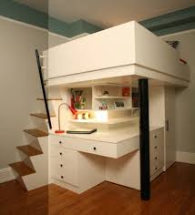 lit sureleve avec bureau le lit surélevé designs amusants archzine fr