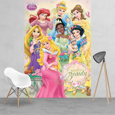 princess wallpaper murals pink princess castle wall mural disney princess ariel snow white bell sleeping beauty feature wallpaper mural 158cm x 232cm