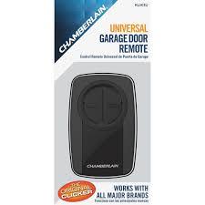 chamberlain clicker universal garage door remote control klik3u