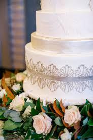 fleur de lis wedding cake peabody opera house wedding by mike cassimatis southern weddings