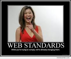 Web Memes - web standards sucks by ben meme center