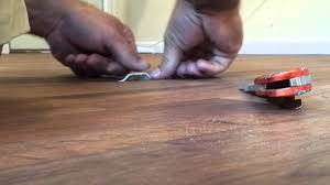 Repairing Scratches In Laminate Flooring Linoleum Repair Youtube
