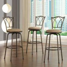 swivel bar stools kitchen u0026 dining room furniture the home depot