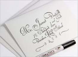 Wedding Envelopes How To Fake Calligraphy For Wedding Envelopes Bridal Tune