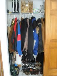 crafting my happy life coat closet organizing